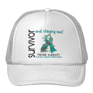 Survivor 9 Ovarian Cancer Trucker Hat
