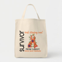 Survivor 9 Uterine Cancer Tote Bag
