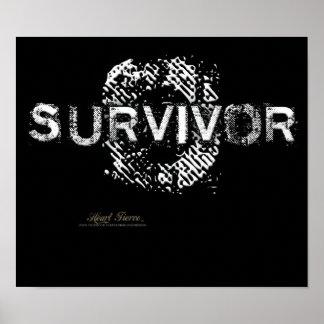 Survivor Aftershock-blk poster