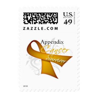 Survivor - Appendix Cancer Stamp