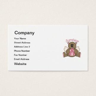 Survivor (bear) business card