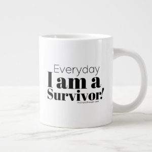 SURVIVOR Black Giant Mug
