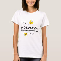 Survivor - Bladder cancer T-Shirt