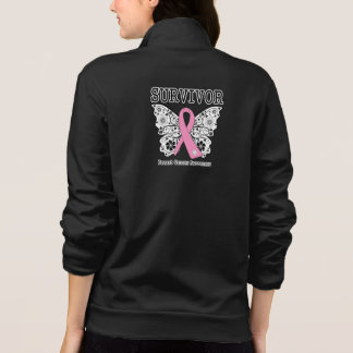 SURVIVOR - Breast Cancer Butterfly Shirt