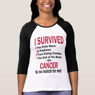 Survivor - Cancer No Match T Shirt