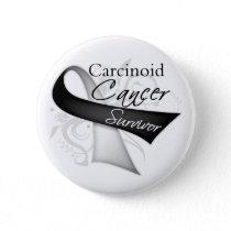 Survivor - Carcinoid Cancer Pinback Button