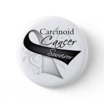 Survivor - Carcinoid Cancer Pinback Button