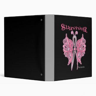 Survivor Celtic Butterfly - Breast Cancer Binder
