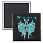 Survivor Celtic Butterfly - Gynecologic Cancer Magnets