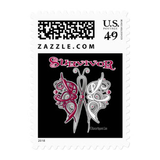 Survivor Celtic Butterfly - Head and Neck Cancer Postage