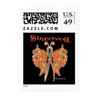 Survivor Celtic Butterfly - Leukemia Stamp
