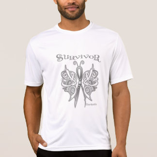 Survivor Celtic Butterfly - Lung Cancer T-shirts