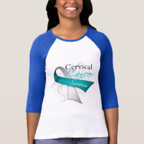 Survivor - Cervical Cancer T-Shirt