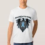 Survivor Crest For Prostate Cancer Survivors T Shirt