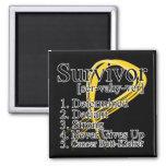 Survivor Definition - Childhood Cancer Magnets