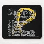 Survivor Definition - Childhood Cancer Mouse Pad
