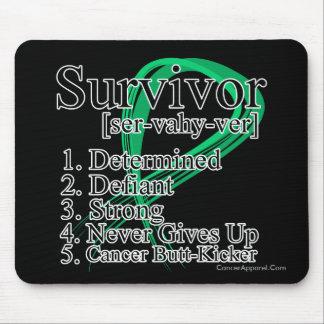 Survivor Definition - Liver Cancer Mouse Pad