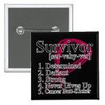 Survivor Definition - Multiple Myeloma Buttons