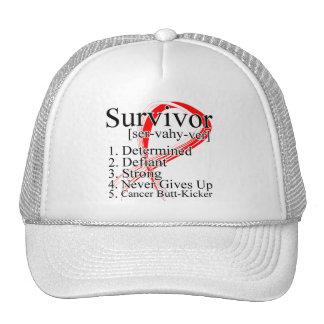 Survivor Definition - Oral Cancer Mesh Hats