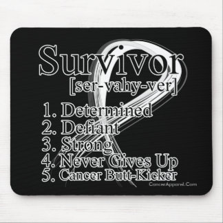 Survivor Definition - Retinoblastoma Mouse Pad