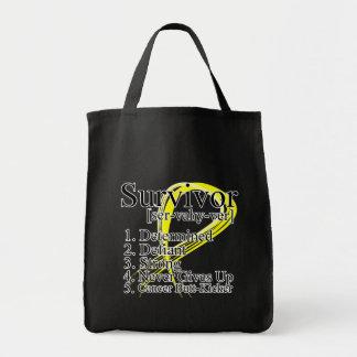 Survivor Definition - Testicular Cancer Bag
