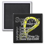 Survivor Definition - Testicular Cancer Magnets