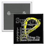 Survivor Definition - Testicular Cancer Pins
