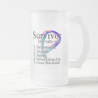 Survivor Definition - Thyroid Cancer Coffee Mug