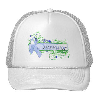 Survivor Floral Blue Trucker Hat