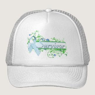 Survivor Floral Light Blue Trucker Hat
