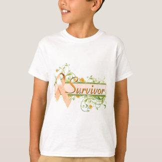 Survivor Floral Orange T-Shirt