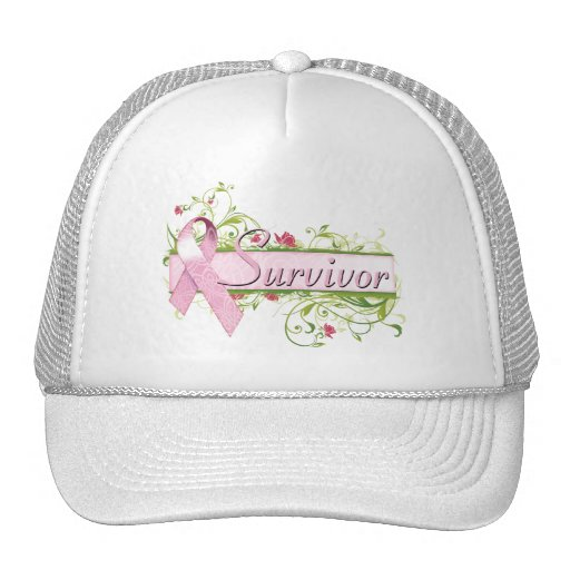 Survivor Floral Pink Trucker Hat
