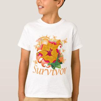 Survivor flower orange T-Shirt