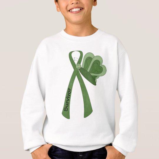 Survivor- Green Awareness Sweatshirt