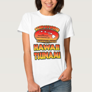Survivor - Hawaii Tsunami - I survived T Shirt