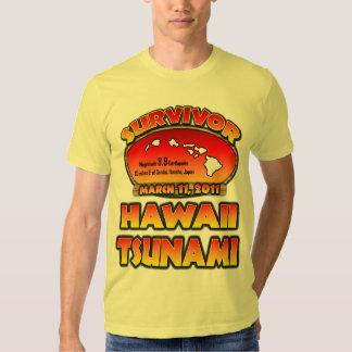 Survivor - Hawaii Tsunami Tee Shirt