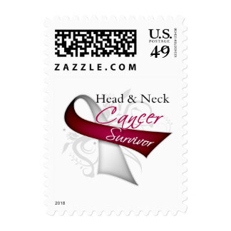 Survivor - Head and Neck Cancer Postage