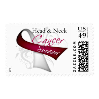 Survivor - Head and Neck Cancer Stamp