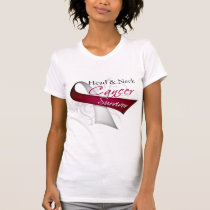 Survivor - Head and Neck Cancer T-Shirt