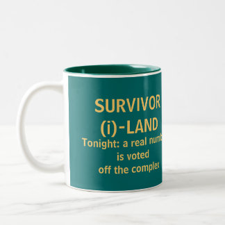 Survivor (i)-Land - a GEEK TV mug