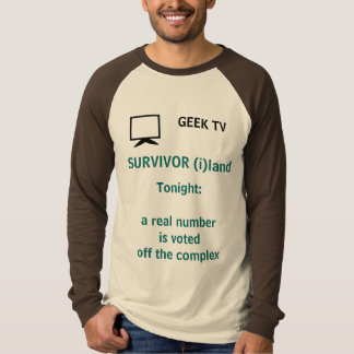Survivor (i)land - a GEEK TV shirt