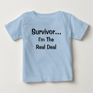 Survivor...I'm The Real Deal t-shirt