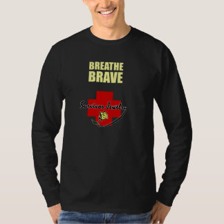 Survivor Jewelry - Breathe Brave T-Shirt
