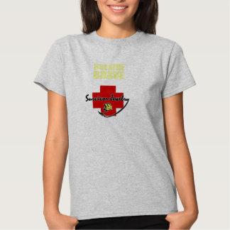 Survivor Jewelry - Breathe Brave T Shirt