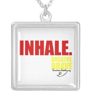 Survivor Jewelry - Inhale Breathe Brave