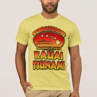 Survivor - Kauai, Hawaii Tsunami T-Shirt