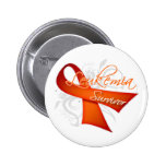 Survivor - Leukemia Pins