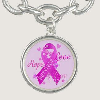 Survivor Love Hope Cure Charm Bracelets