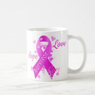 Survivor Love Hope Cure Coffee Mug
