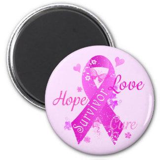 Survivor Love Hope Cure Magnet